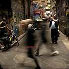 Near Degraves by Andrew  Maccoll