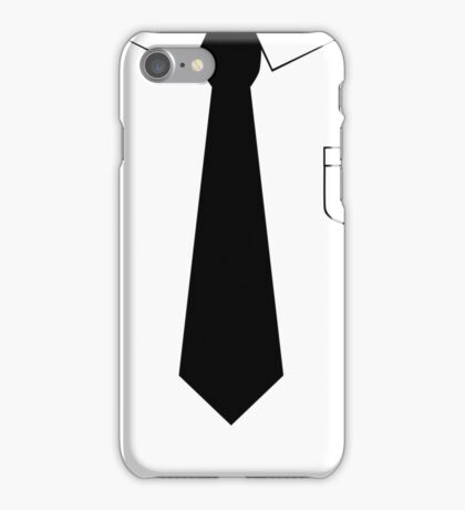 Black tie iPhone Case/Skin