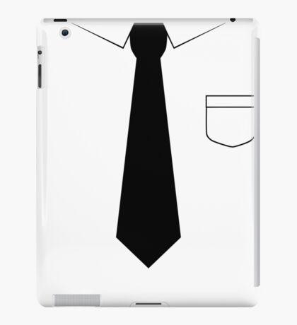 Black tie iPad Case/Skin