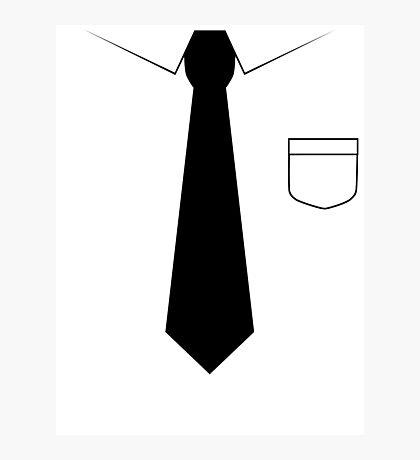 Black tie Photographic Print