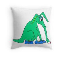 Arddy the Aardvark Throw Pillow