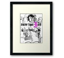 L'astronaut Framed Print