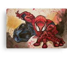Hey Spidey  Canvas Print