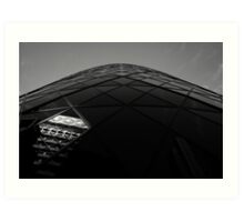 The Gherkin Art Print
