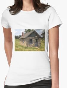 Stone Building Womens Fitted T-Shirt