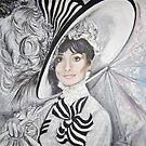 Audrey Hepburn by Anne Wild