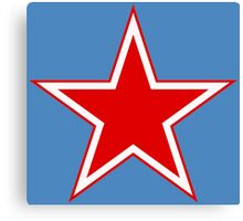 Roundel of the Soviet Air Force Canvas Print