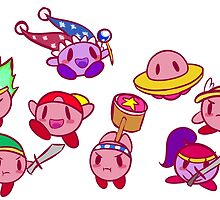 Kirby by spaceybrains