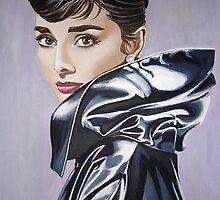 Audrey Hepburn 1 by Anne Wild