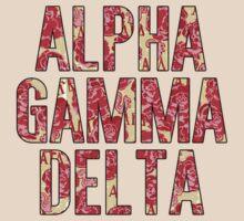 Alpha Gamma Delta - Krass & Co. Pattern 1 by LaurenTank