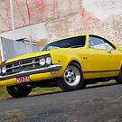 Yellow Holden HK Monaro by John Jovic