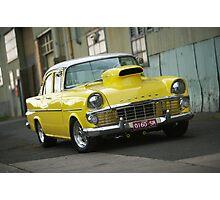 Yellow EK Holden Photographic Print