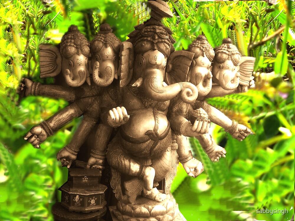 Lord Ganesha by sabbysingh