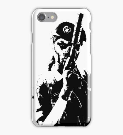 Weathered Caveira Rainbow Six iPhone Case/Skin