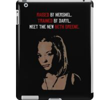 The New Beth Greene. iPad Case/Skin