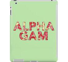 Alpha Gamma Delta - Krass & Co. Pattern 2 iPad Case/Skin