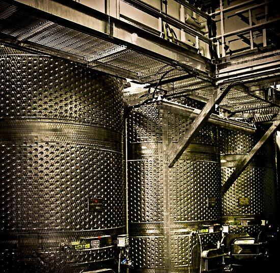 vat di vino by Bruce  Dickson