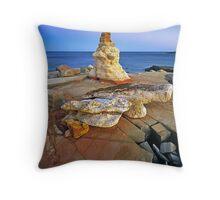 Cape Leveque Rockform #1 Throw Pillow