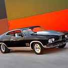 Black Ford XB GT Coupe by John Jovic