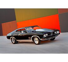 Black Ford XB GT Coupe Photographic Print