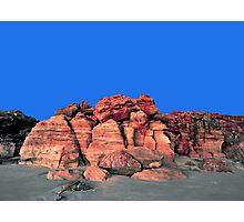 Red Cliffs Evening, Cape Leveque Photographic Print