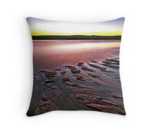 Tide Lines, Hunters Creek, Cape Leveque Throw Pillow