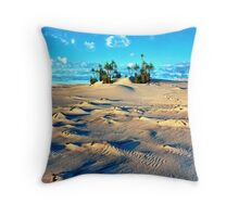 Sandforms and Pandanus Stand, Cape Leveque Throw Pillow