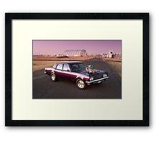 Holden HG Brougham Framed Print