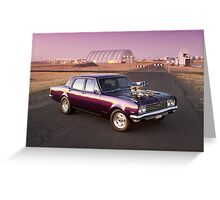 Holden HG Brougham Greeting Card