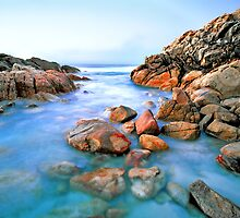 Small Cove at Wyadup Rocks, Yallingup, WA by Mark Boyle