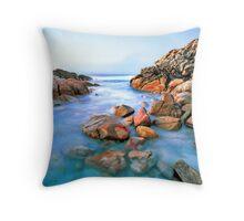 Small Cove at Wyadup Rocks, Yallingup, WA Throw Pillow