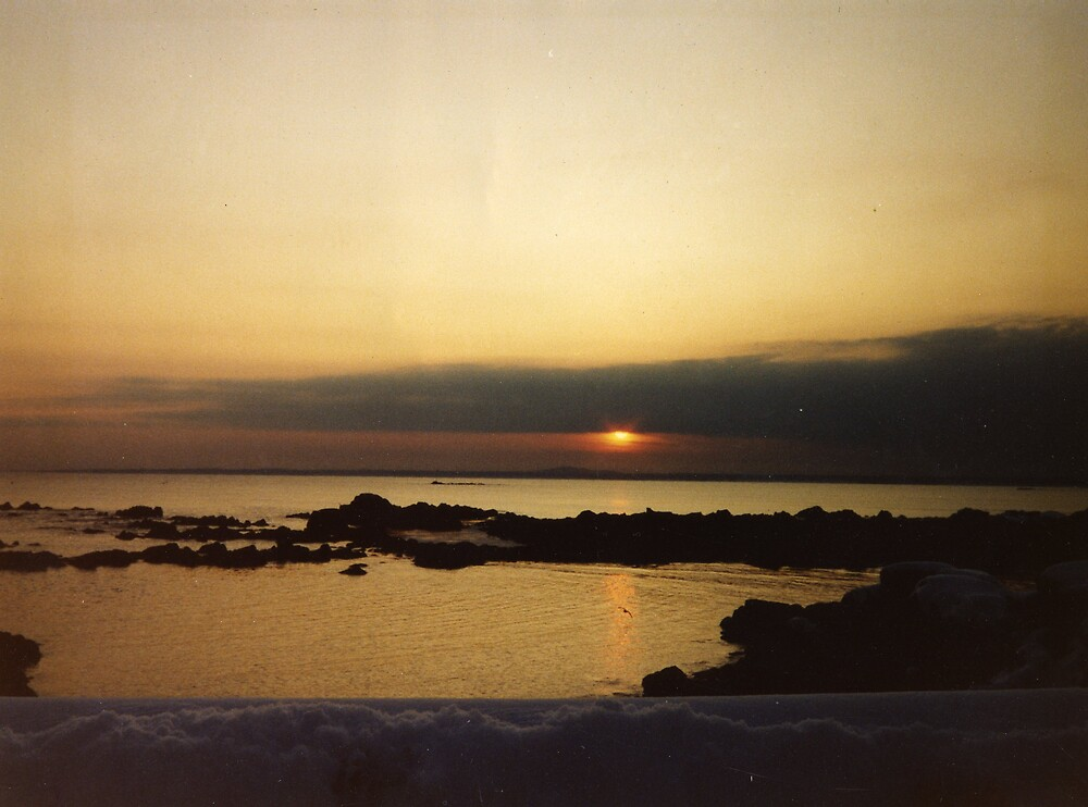 Sunset in Maine by amadge