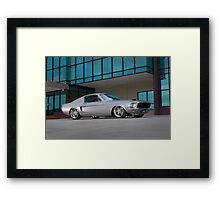 67 Ford Mustang Fastback Framed Print