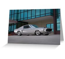 67 Ford Mustang Fastback Greeting Card