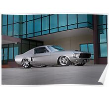 67 Ford Mustang Fastback Poster