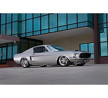 67 Ford Mustang Fastback Photographic Print