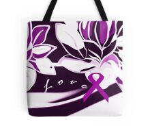 Purple Uterine Fibroid Fundraiser for Malinda Tote Bag