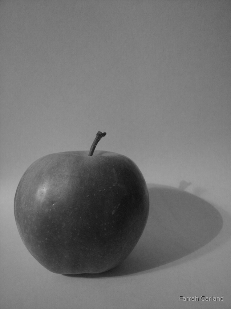 apple study - bw by Farrah Garland