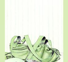 Green Bag & Shoes by Mariana Musa