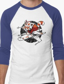 Red Panda, Standing By Men's Baseball ¾ T-Shirt