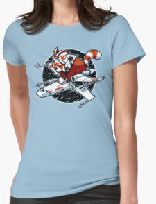 Red Panda, Standing By Womens Fitted T-Shirt