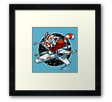 Red Panda, Standing By Framed Print