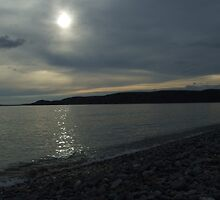 Newgale at sunset by julieday23