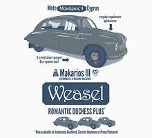 Makarios III Weasel Romantic Duchess Plus Unisex T-Shirt