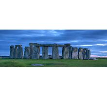 Stonehenge Panorama Photographic Print