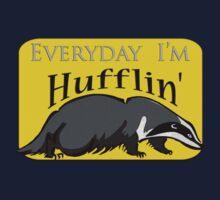 Everyday I'm Hufflin' Kids Clothes