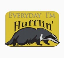 Everyday I'm Hufflin' Kids Clothes