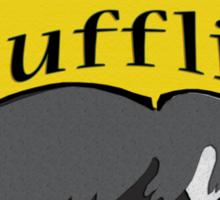 Everyday I'm Hufflin' Sticker