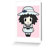 Mayuri Shiina  Chibi Greeting Card