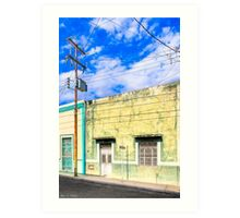 Wired - Streets of Mérida, Mexico Art Print